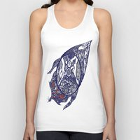 greg guillemin Tank Tops featuring Abstract 2 by Greg Phillips by SquirrelSix