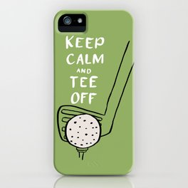 Tee Off iPhone Case