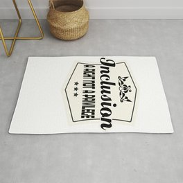 Great for all occassions Inclusion Tee Inclusion Rug