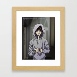 Tiberius Blackthorn Framed Art Print