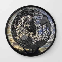 Unisphere Wall Clock