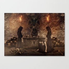 The Lord of Death Canvas Print