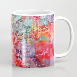 Enterprise map Nevada painting 2 Coffee Mug