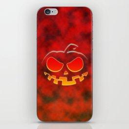 Screaming Pumpkin iPhone Skin