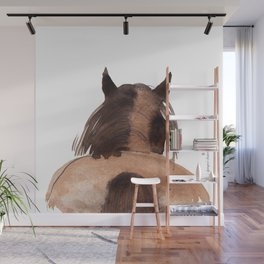 Horse (Mane&tail) Wall Mural