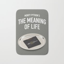 Monty Python's The Meaning of Life - Alternative Movie Poster Bath Mat