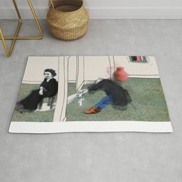 The Monster Series (7/8) Rug