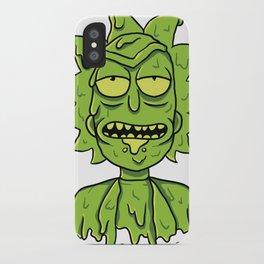 Toxic Rick iPhone Case