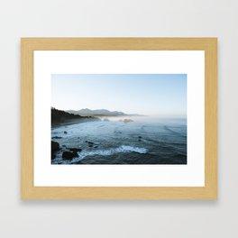 Cannon Beach Sunrise Framed Art Print