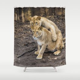 I Got Your Back, Bro! Shower Curtain