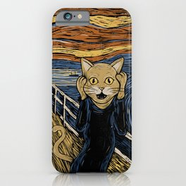 The Purr iPhone Case
