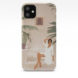Graceful Resting II iPhone Case