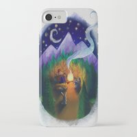 feet iPhone & iPod Cases featuring Feet by Jenelle Grenier