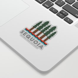 Sequoia National Park California Design for the outdoors lover! Sticker