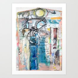 Her Flight Art Print