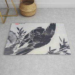 Crow On A Rock - Digital Remastered Edition Rug