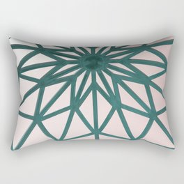 Arabic Pattern Retro Rectangular Pillow