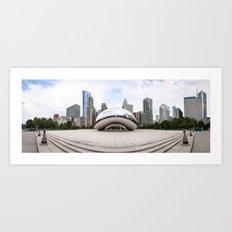 Cloud Gate - Chicago Art Print