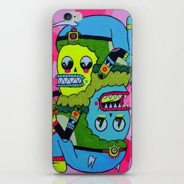 Topsy Turvy iPhone Skin