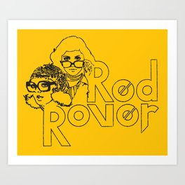 Red Rover Art Print