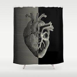 MOODULAB 002: Pulse / Heartbeat Shower Curtain