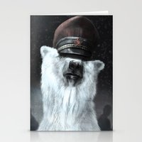general Stationery Cards featuring The General by Tom Alex Buch