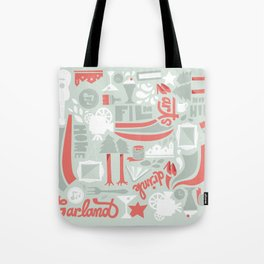 Garland Pattern Tote Bag