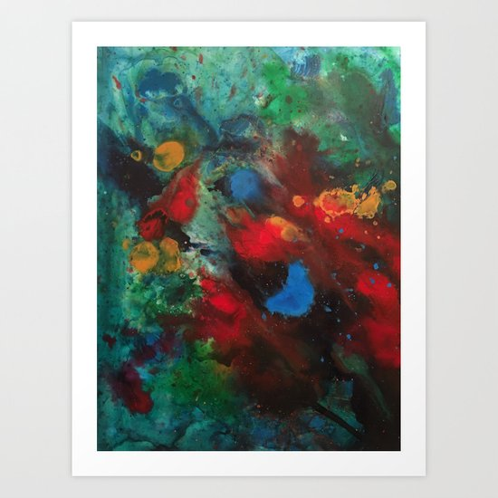 Cosmic Analysis No.1 Art Print