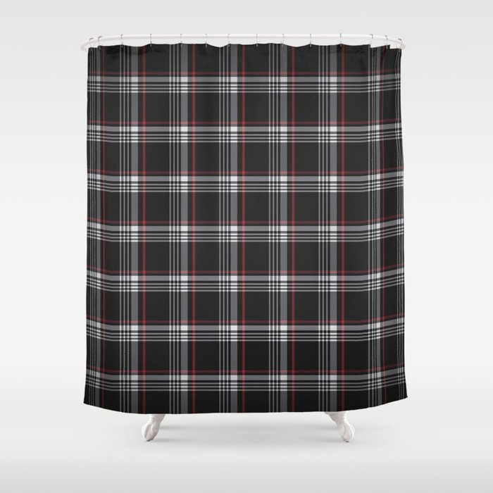 Golf GTI Plaid Shower Curtain