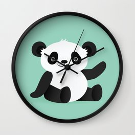 Happy Panda Wall Clock