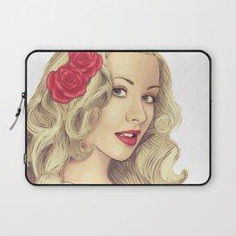 Christina Aguilera Laptop Sleeve