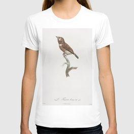 White-chested puffbird from Histoire Naturelle des Oiseaux de Paradis et Des Rolliers (1806) by Jacq T-shirt