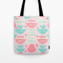 Pink and Turquoise Everything Tote Bag