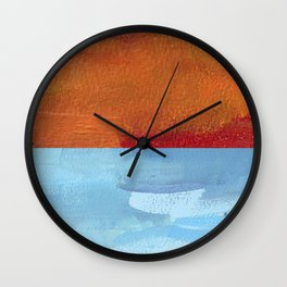 Sea & Sand Wall Clock