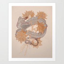 Astral Candy (Minimal) Art Print