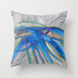 Blue Devils Throw Pillow