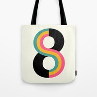 physics Tote Bags featuring Infinity by Andy Westface