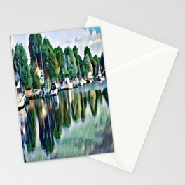 Lagoon Reflections Stationery Cards