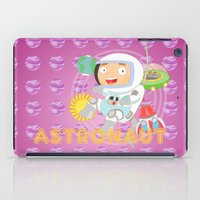astronaut iPad Cases featuring Astronaut by Alapapaju
