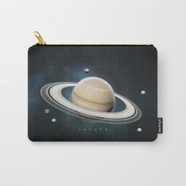 A Portrait of the Solar System: Saturn Carry-All Pouch