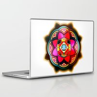 sacred geometry Laptop & iPad Skins featuring Sacred by Sircasm