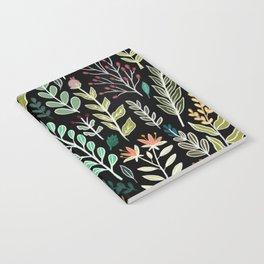 Dark Botanic Notebook