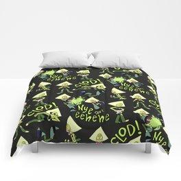 P-dot Pattern Comforters