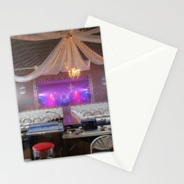 Preparing for a Concert Stationery Cards
