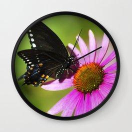 Butterfly V Wall Clock