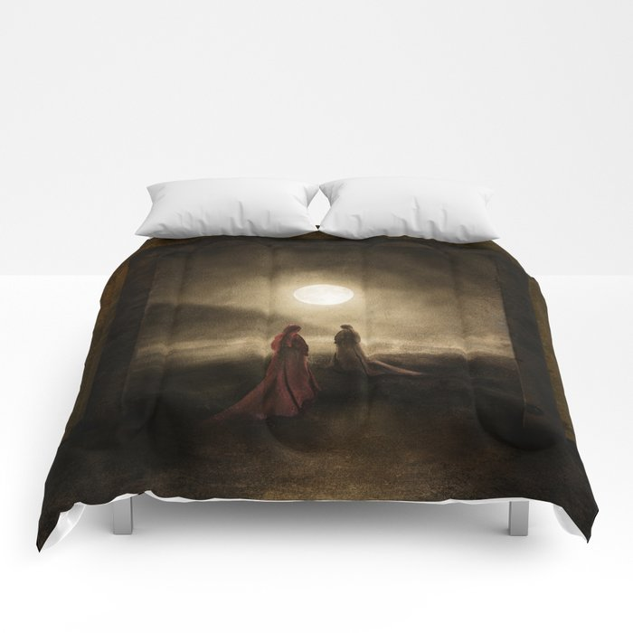 Escape to the Moon Comforters