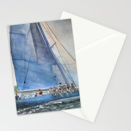 Sailing on Columbia 12 US 16 Stationery Cards