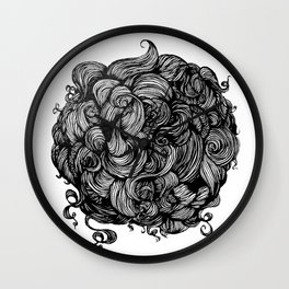 hairball Wall Clock