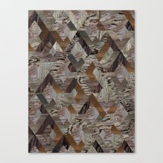 Wood Quilt Canvas Print