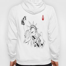 freedom...black & white Hoody